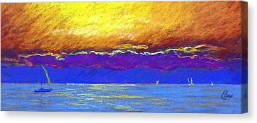Presque Isle Bay Canvas Print by Michael Camp