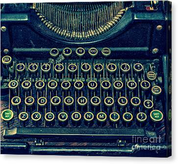 Press Any Key Canvas Print by Emily Kay