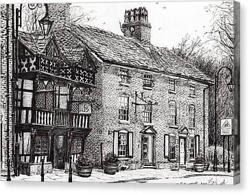 Prestbury Canvas Print by Vincent Alexander Booth