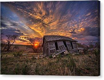 Abandoned Canvas Print - Prestige by Thomas Zimmerman