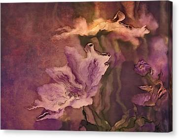 Pretty Bouquet - A04ct3 Canvas Print by Variance Collections