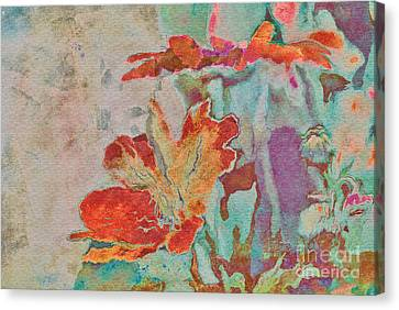 Pretty Bouquet - A09z7bt2 Canvas Print by Variance Collections