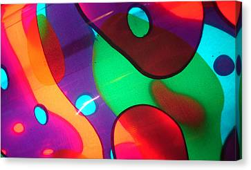 Canvas Print featuring the photograph Pretty Colors by Sarah Crumpler