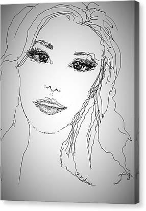 Pretty Eyes Canvas Print