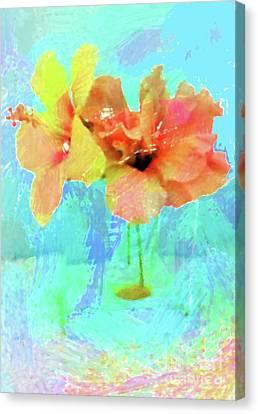 Canvas Print - Pretty Flowers by Karen Nicholson