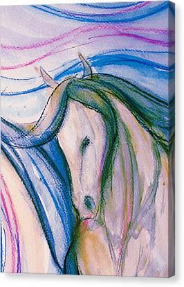 Gypsy Canvas Print - Pretty Girl by Jennifer Fosgate