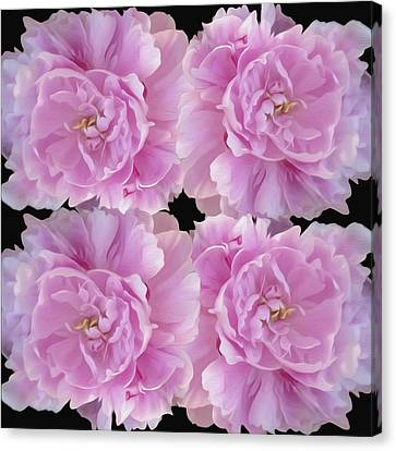 Canvas Print featuring the photograph Pretty In Pink by Linda Constant