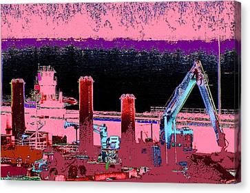 Pretty In Pink Canvas Print by Rachel Christine Nowicki