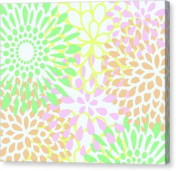 Pretty Pastels Canvas Print