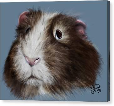 Pretty Piggy Canvas Print