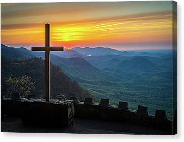 Pretty Place Chapel Sc Everlasting To Everlasting Canvas Print by Robert Stephens