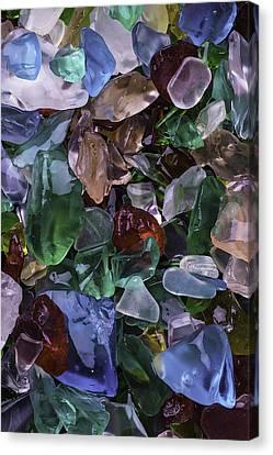 Pretty Sea Glass Canvas Print by Garry Gay
