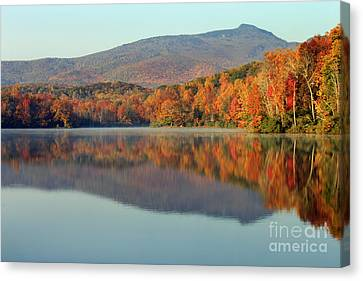 Price Lake Canvas Print by Lena Auxier