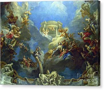 Priceless Art In Versailles II Canvas Print by Al Bourassa
