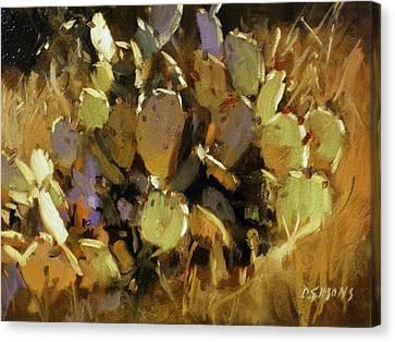 Prickly Pear Canvas Print by David Simons