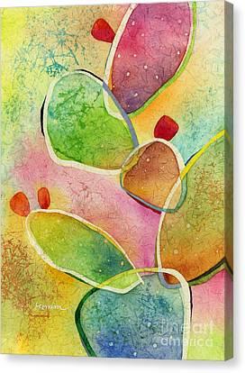 Prickly Pizazz 1 Canvas Print by Hailey E Herrera