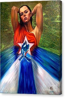 Pride Canvas Print by Jorge L Martinez Camilleri
