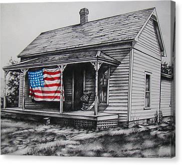 Pride Canvas Print by Michael Lee Summers