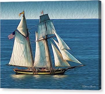 Pride Of Baltimore Canvas Print