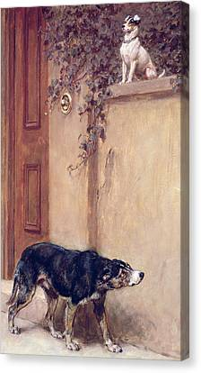 Briton Riviere Canvas Print - Pride Of Place by Briton Riviere