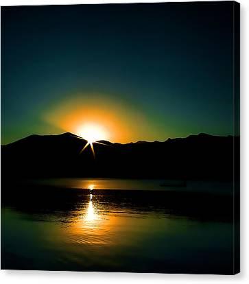 Priest Lake Sunrise Canvas Print