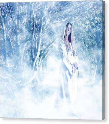 Priestess Canvas Print by John Edwards