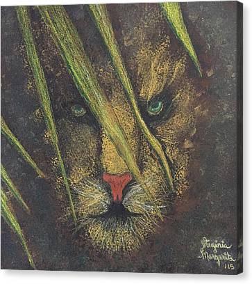 Primal Instict I 15w.w Canvas Print by Virginia Margarita