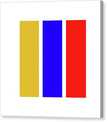 Primary Canvas Print by Charles Stuart