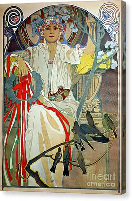 Canvas Print featuring the photograph Primavera 1914 by Padre Art