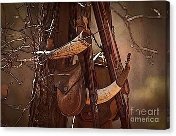 Primitive Arsenal Canvas Print by Kim Henderson