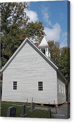 Primitive Baptist Church Est 1827 Canvas Print
