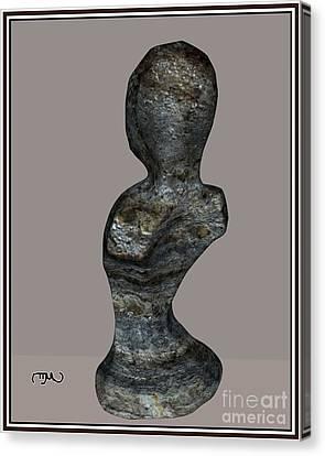 Primitive Torso 28pt1 Canvas Print