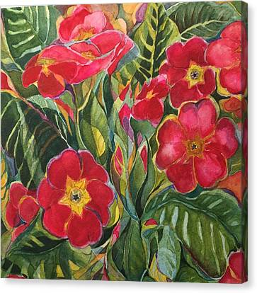 Canvas Print - Primrose by Lynne Bolwell