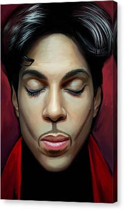Prince Artwork 2 Canvas Print by Sheraz A
