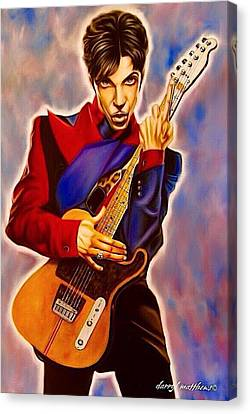 Prince Canvas Print by Darryl Matthews