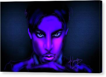 Prince Canvas Print by DC Langer
