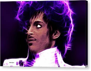 Prince - His Royal Badness Canvas Print by Stephen Younts