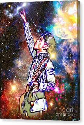 Deep Space Canvas Print - Prince In Heaven by Daniel Janda