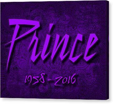 Prince Memorial Canvas Print