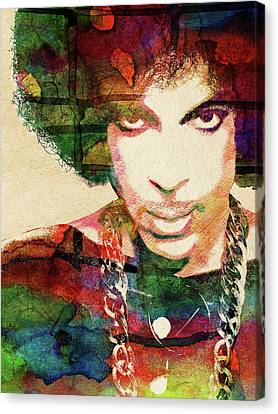 Prince Canvas Print by Mihaela Pater