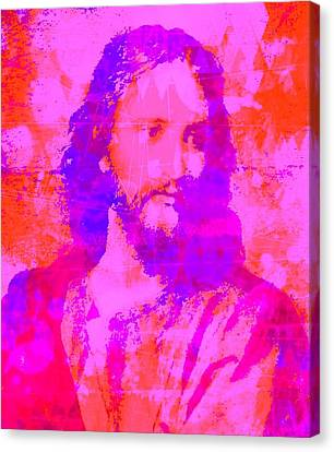 Prince Of Peace Canvas Print by Brian Broadway