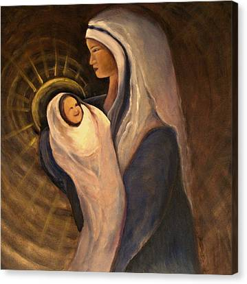 Prince Of Peace Canvas Print by Wendie Thompson