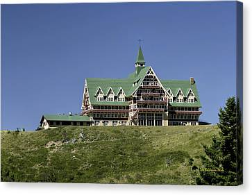 Prince Of Wales Hotel Canvas Print