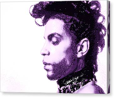 Prince R I P 2 Canvas Print