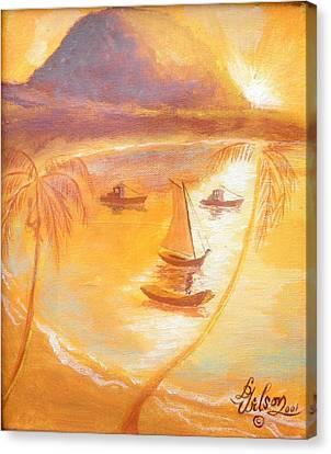 Prince Rupert's Ghost Canvas Print by David G Wilson