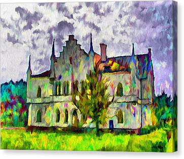 Romania Canvas Print - Princely Palace by Jeffrey Kolker
