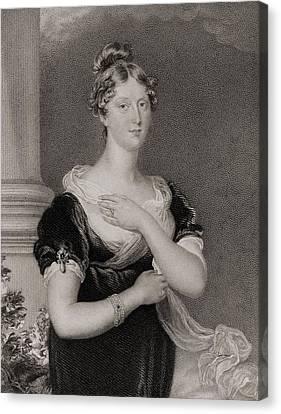 Princess Charlotte Caroline Canvas Print