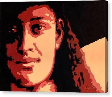 Princess Kaiulani Canvas Print by Angela Treat Lyon