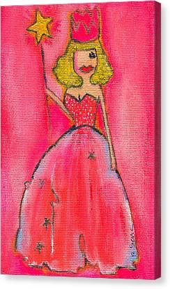 Princess Lepore Canvas Print by Ricky Sencion