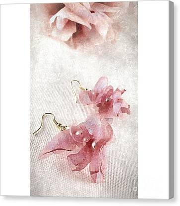 Dangly Earrings Canvas Print - Princess by Molly McPherson
